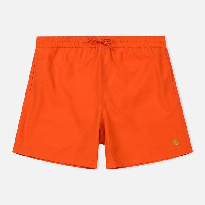 Мужские шорты Carhartt WIP Chase Swim 3.7 Oz Pepper/Gold