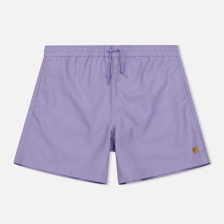 Мужские шорты Carhartt WIP Chase Swim 3.7 Oz Soft Lavender/Gold