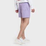 Мужские шорты Carhartt WIP Chase Swim 3.7 Oz Soft Lavender/Gold фото- 2