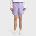 Мужские шорты Carhartt WIP Chase Swim 3.7 Oz Soft Lavender/Gold фото- 1