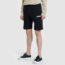 Мужские шорты Carhartt WIP College 9.4 Oz Black/White фото- 1