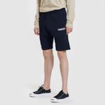 Мужские шорты Carhartt WIP College 9.4 Oz Dark Navy/White фото- 1