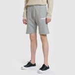 Мужские шорты Carhartt WIP College 9.4 Oz Grey Heather/White фото- 1