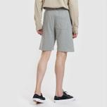 Мужские шорты Carhartt WIP College 9.4 Oz Grey Heather/White фото- 2