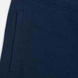 Мужские шорты Carhartt WIP College Sweat 9.1 Oz Blue/Yellow фото- 2