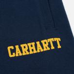 Мужские шорты Carhartt WIP College Sweat 9.1 Oz Blue/Yellow фото- 3
