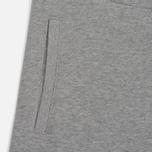 Мужские шорты Carhartt WIP College Sweat 9.1 Oz Grey Heather/White фото- 2
