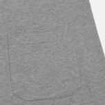 Мужские шорты Carhartt WIP College Sweat 9.1 Oz Grey Heather/White фото- 4