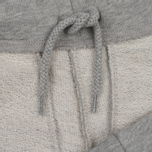 Мужские шорты Carhartt WIP College Sweat 9.1 Oz Grey Heather/White фото- 1