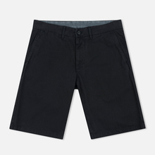 Мужские шорты Carhartt WIP Johnson Twill 7 Oz Black Garment Dyed фото- 0