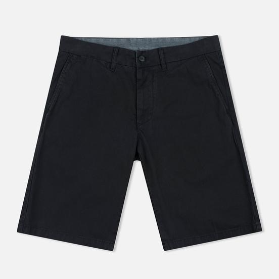 Мужские шорты Carhartt WIP Johnson Twill 7 Oz Black Garment Dyed