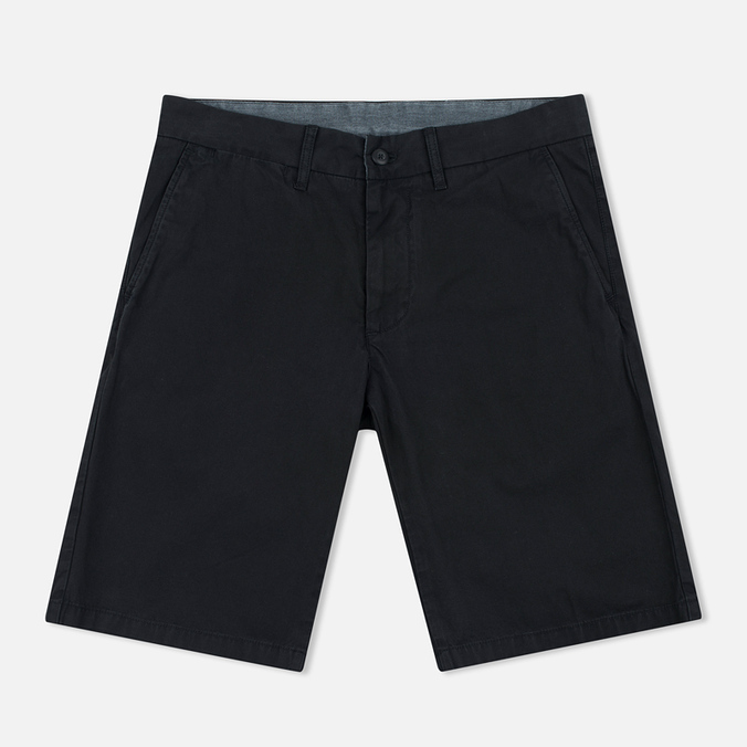 Мужские шорты Carhartt WIP Johnson Twill 7 Oz Black Garment Dyed