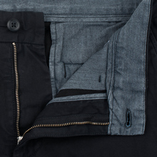 Мужские шорты Carhartt WIP Johnson Twill 7 Oz Black Garment Dyed фото- 1