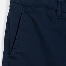 Мужские шорты Carhartt WIP Johnson Twill 7 Oz Blue Garment Dyed фото- 2