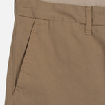 Мужские шорты Carhartt WIP Johnson Twill 7 Oz Leather Garment Dyed фото- 2