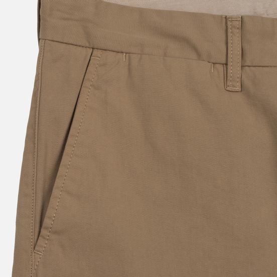 Мужские шорты Carhartt WIP Johnson Twill 7 Oz Leather Garment Dyed