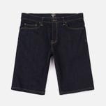 Мужские шорты Carhartt WIP Klondike 11.75 Oz Blue Rinsed фото- 0