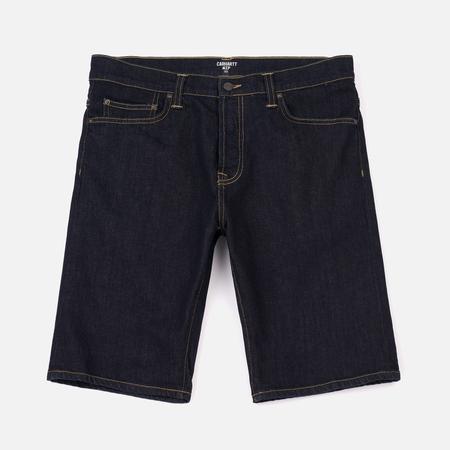 Мужские шорты Carhartt WIP Klondike 11.75 Oz Blue Rinsed