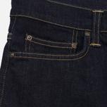 Мужские шорты Carhartt WIP Klondike 11.75 Oz Blue Rinsed фото- 3