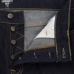 Мужские шорты Carhartt WIP Klondike 11.75 Oz Blue Rinsed фото- 1