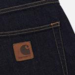 Мужские шорты Carhartt WIP Klondike 11.75 Oz Blue Rinsed фото- 4