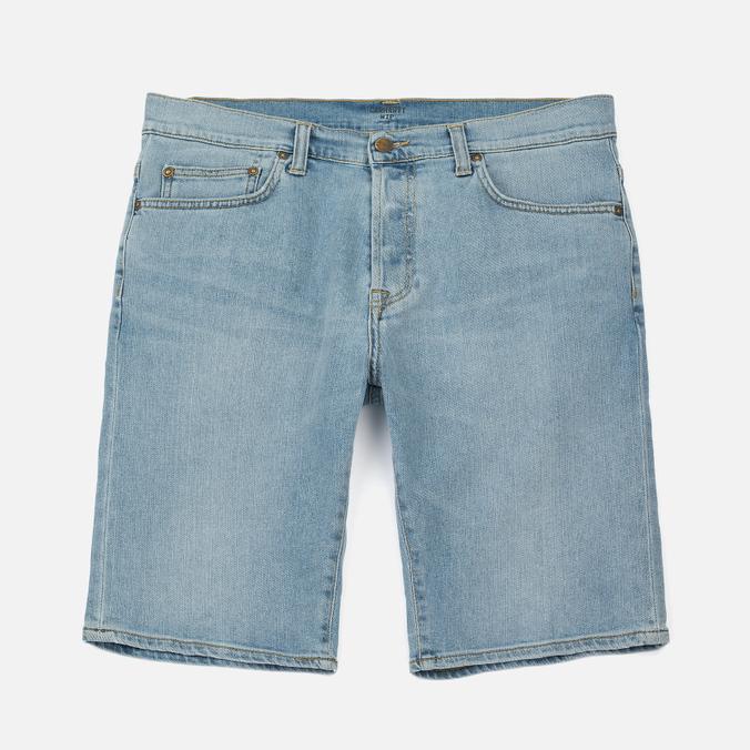 Мужские шорты Carhartt WIP Klondike 11.75 Oz Blue True Bleached