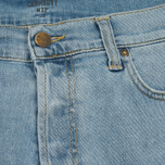 Мужские шорты Carhartt WIP Klondike 11.75 Oz Blue True Bleached фото- 1