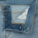 Мужские шорты Carhartt WIP Klondike 11.75 Oz Blue True Bleached фото- 2
