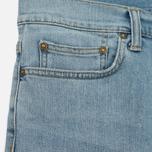 Мужские шорты Carhartt WIP Klondike 11.75 Oz Blue True Bleached фото- 3