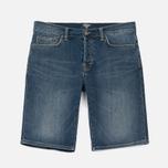 Мужские шорты Carhartt WIP Klondike 11.75 Oz Blue True Stone фото- 0
