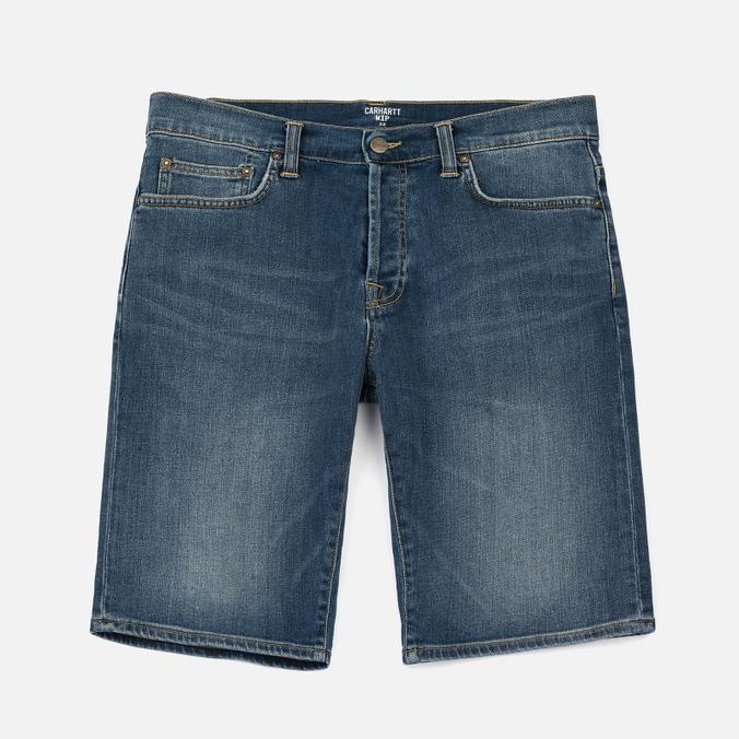 Мужские шорты Carhartt WIP Klondike 11.75 Oz Blue True Stone