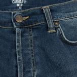 Мужские шорты Carhartt WIP Klondike 11.75 Oz Blue True Stone фото- 1