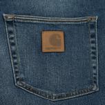 Мужские шорты Carhartt WIP Klondike 11.75 Oz Blue True Stone фото- 4