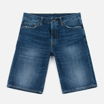 Мужские шорты Carhartt WIP Klondike II Edgewood 12 Oz Blue Gravel фото- 0