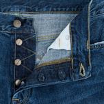 Мужские шорты Carhartt WIP Klondike II Edgewood 12 Oz Blue Gravel фото- 2