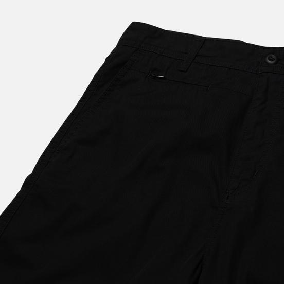Мужские шорты Carhartt WIP Memphis 6 Oz Black Rinsed
