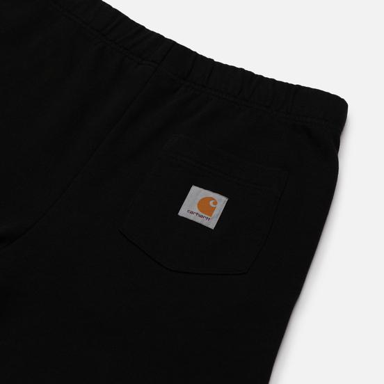 Мужские шорты Carhartt WIP Pocket Sweat 13.3 Oz Black