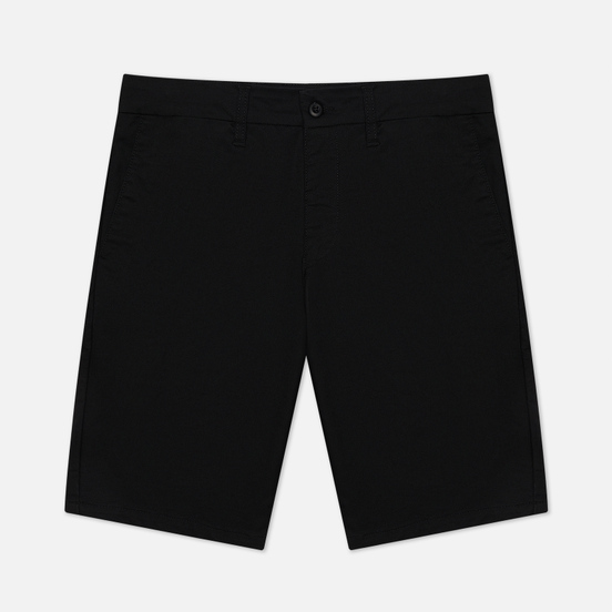 Мужские шорты Carhartt WIP Sid 8.6 Oz Black Rinsed