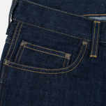 Мужские шорты Carhartt WIP Western II Blue Denim 12 Oz Blue Rinsed фото- 1