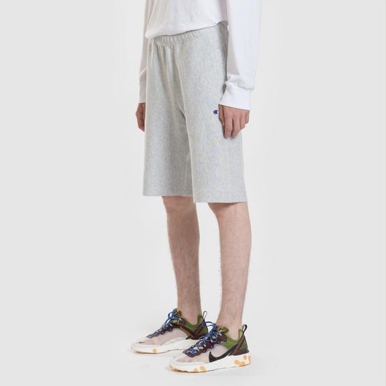 Мужские шорты Champion Reverse Weave Bermuda Brushed Fleece Light Grey