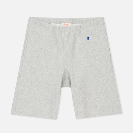 Мужские шорты Champion Reverse Weave Embroidered Logo Grey