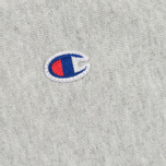 Мужские шорты Champion Reverse Weave Embroidered Logo Grey фото- 2
