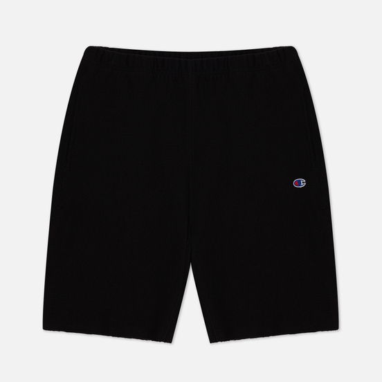 Мужские шорты Champion Reverse Weave Long Bermuda Brushed Fleece Black