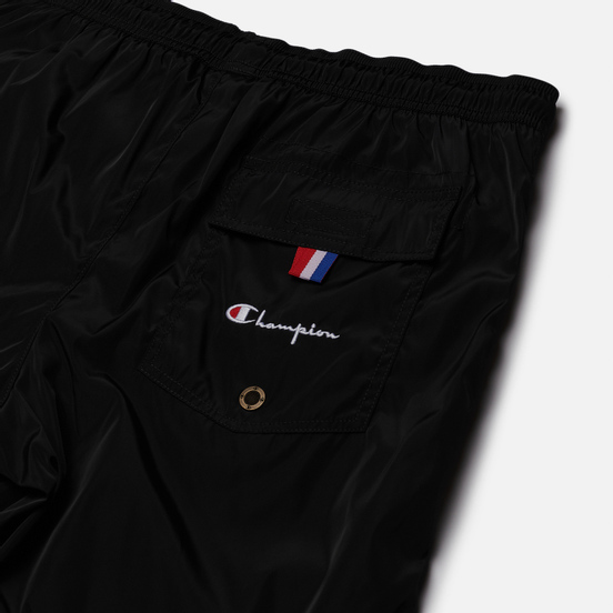 Мужские шорты Champion Reverse Weave Script Logo Basic Bermuda Swim Black
