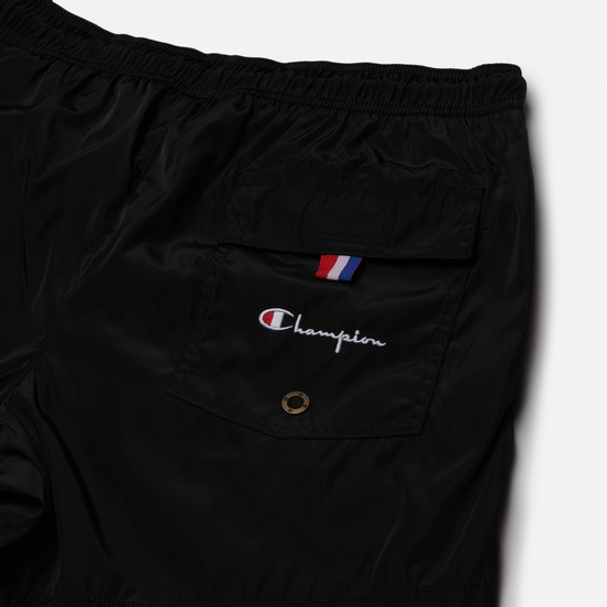 Мужские шорты Champion Reverse Weave Small Logo Basic Swim Black