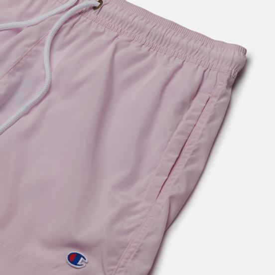 Мужские шорты Champion Reverse Weave Small Logo Basic Swim Pink