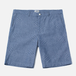Мужские шорты Edwin Boardwalk Dobby Blue Chambray фото- 0