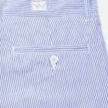Мужские шорты Edwin Rail French Striped Y/D Seersucker Navy/White фото- 3