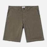 Edwin Rail Garmgent Dyed Men's Shorts Khaki photo- 0