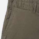 Мужские шорты Edwin Rail Garmgent Dyed Khaki фото- 2
